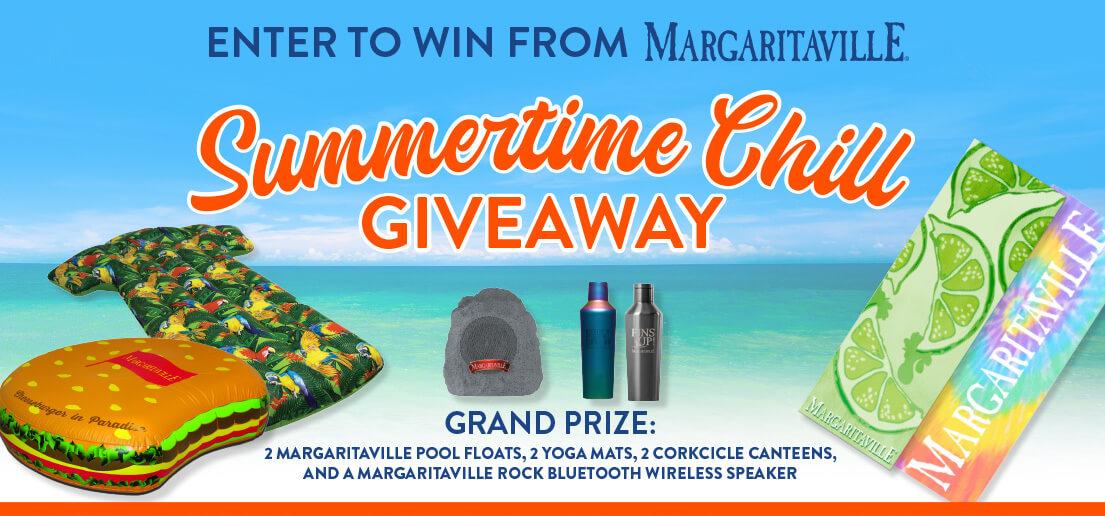 Margaritaville's Summertime Chill Giveaway